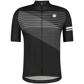 AGU Essential Striped SS Jersey Men, black